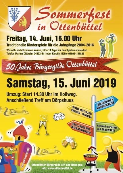 Sommerfest-50-Jahre Einladung